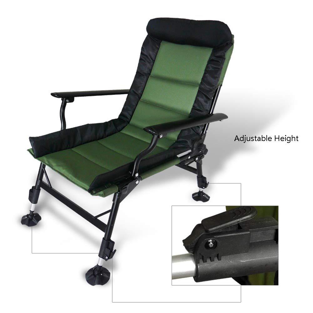 lovehouse Pliant Chaise de Camping avec Hauteur réglable Et