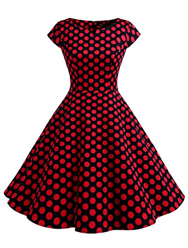 50s house dress - 1