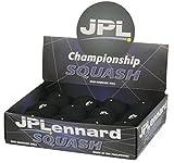 Jpl Racquet Sports Tournament Match Play Championship Squash Balls Pack Of 12