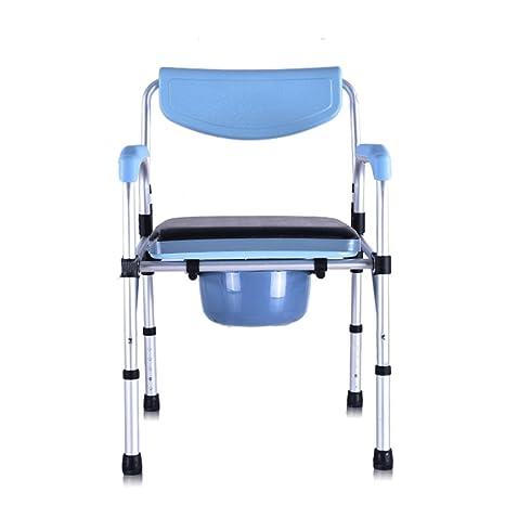 Cqq silla de baño Silla plegable de la cómoda con el asiento ...