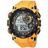 Armitron Sport Men's 40/8397YLW Digital Chronograph Yellow Resin Strap Watch