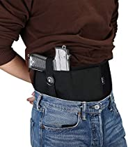 ProCase Belly Band Holster for Concealed Carry, Adjustable Neoprene Elastic Waist Band Carrying Gun Holder for