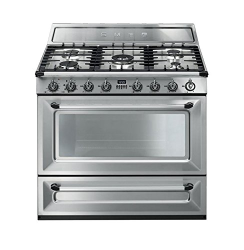 Dual Fuel Freestanding Cookers (Smeg TRU90X 36