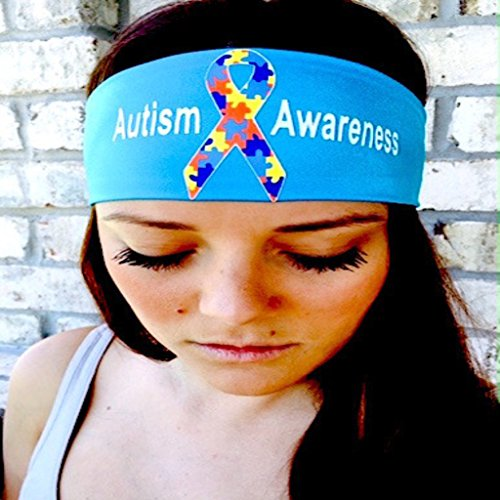 Autism Awareness. Purple headband. Headbands By Hippie Runner. The #1 Choice For Athletes! No Slip, No Drip Headbands For Running, Walking, Exercise Or Fashion!