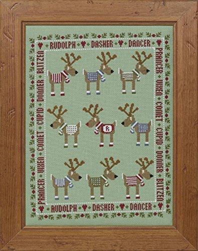 Historical Sampler Company Rudolph & Friends Cross Stitch Kit