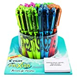 Pilot FriXion Light Erasable Highlighters Tub of 50 Capped Highlighters Chisel Tip Assorted Colors, Too Much or The Wrong Color Highlighted? Make Mistakes Disappear without White Out (5914)