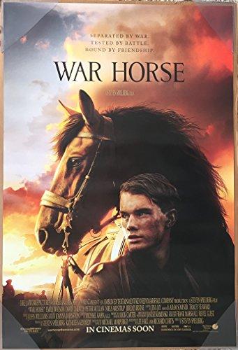 - WAR HORSE MOVIE POSTER 2 Sided ORIGINAL 27x40 STEVEN SPIELBERG JEREMY IRVINE