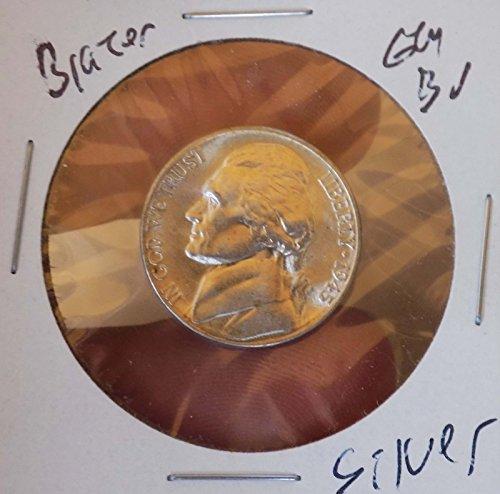 Jefferson Silver Nickel 1945 S CH Gem Bu Blazing Luster Rare Stunner