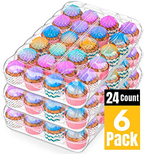 BAKERYBEST Cupcake Boxes Disposable