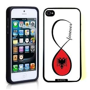 fashion case Albanian Forever Albania Flag Infinity Forever Thinshell Case Protective iphone 5c Case iphone 5c Case WANGJING JINDA
