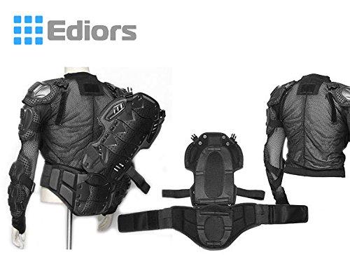 Ediors® Motorcycle Full Body Armor Protector Pro Street Motocross ATV Titan Sport Jacket Shirt (XX-Large) by Ediors (Image #4)