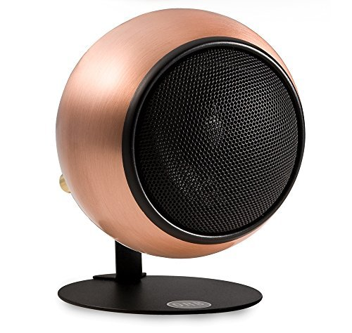 Orb Audio Mod1 Stereo and TV Speaker, single pack with mod2 upgrade hardware - Hand Antiqued Copper by Orb Audio
