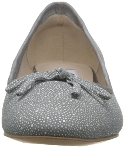 Clarks Vestir Mujer Zapatos Eliberry Isla En Piel Gris