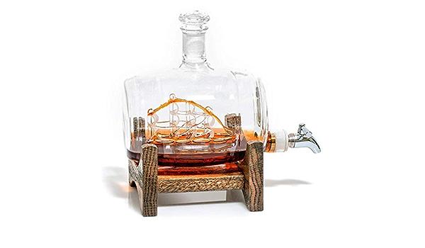 WRJY Decanters - Dispensador de Licor de Acero Inoxidable ...