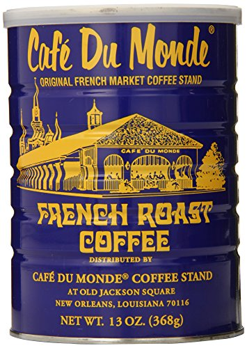 Cafe Du Monde Coffee, French Roast, 13-Ounce (Pack of 3) ()