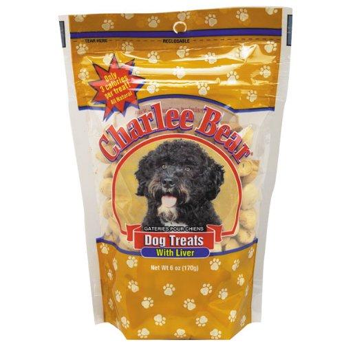 Charlee Bear Dog Treat, 6-Ounce, Liver, My Pet Supplies