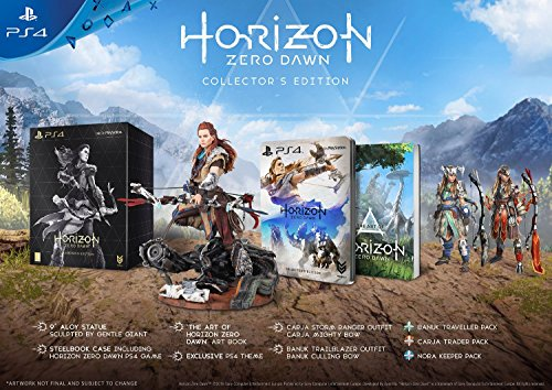Horizon Zero Dawn Collector's Edition (Horizon Zero Dawn Playstation 4 Collectors Edition)