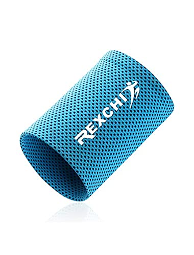 Sports Wristband Sweat Absorbent Breathable Washable Fitness Cycling Cold Wristbands for Sports Fitness Estimated Price -