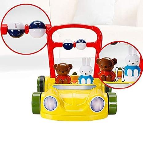 Andador para niños 0-3 años Cochecito de bebé Miffy Rabbit ...