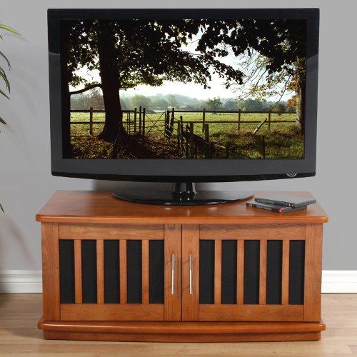 (Plateau LSX-D 42 W Wood TV Stand, 42-Inch, Walnut Finish)