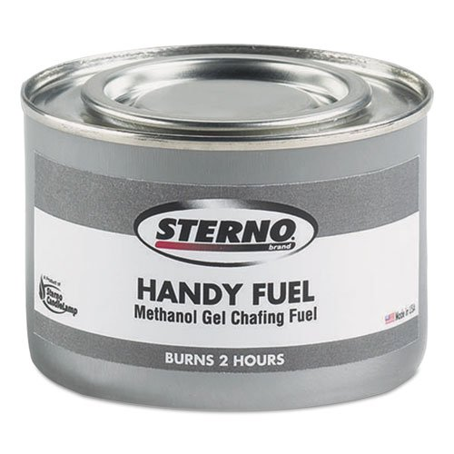 Sterno Handy Fuel Methanol Gel Chafing Fuel, Two-Hour Burn, 72 Fuel Chafing Cans, 189.9g by Sterno