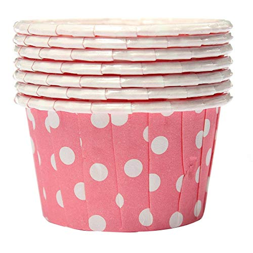 (Cake Molds - 100x Cupcake Per Paper Cake Case Baking Cups Liner Muffin Pink - Stick Navy Lids Disposable Steel Medium Tulip Shamrock Colorful Safe Muffin Standard Blue Reusable Baby Brown N)