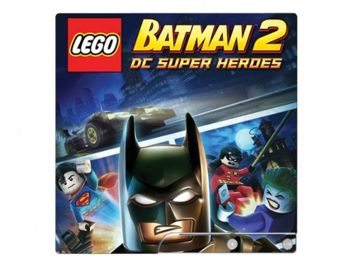 LEGO Batman 2: DC Super Heroes Game Skin for Sony Playstation 3 Slim Console PS3 (Lego Batman 2 Dc Super Heroes Ps3)