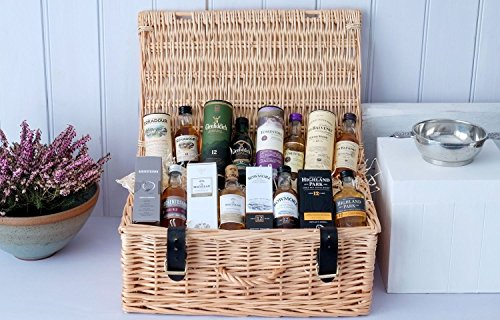Scottish Whisky Miniatures Gift Selection Hamper