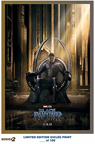 Lost Posters RARE POSTER marvel BLACK PANTHER movie 2018 gic