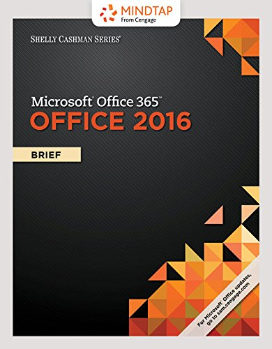 MindTap Computing, 1 term (6 months) Printed Access Card for Freund/Last/Pratt/Vermaat/Sebok/Hoisington/Starks/Schmieder's Shelly Cashman Series Microsoft Office 365 & Office 2016: Introductory