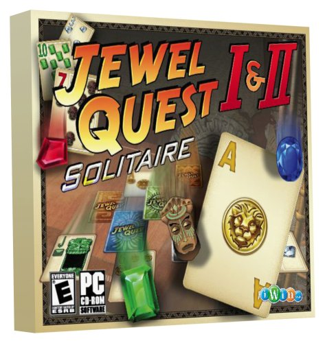 Jewel Quest Solitaire 1 and 2 - PC (Pc Games Jewel Quest Solitaire)