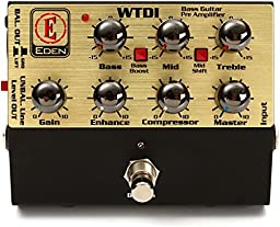 Eden World Tour Direct Box Preamp Pedal USM-WTDI-U Amplifier Accessory