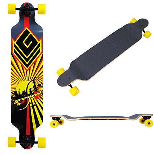 Longboard Complete Cruising skateboard Downhill