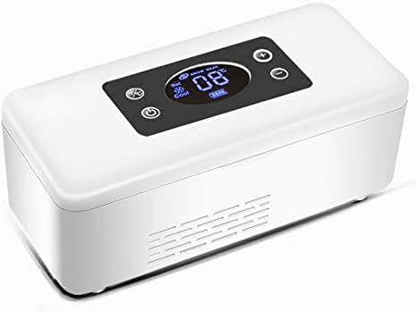 Q store Insulin cooler Insulina portátil Caja refrigerada Mini ...