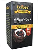 Eclipse Coconut Shell Natural Charcoal 96 Pieces for Hookah Shisha Hooka Pipe Incense - Best Reviews Guide