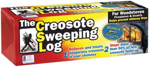 Creosote Sweeping Log For Fireplaces Lot of 2 Condition is New