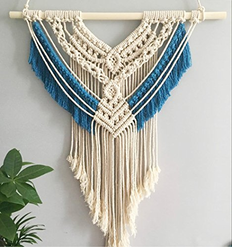 100% Handmade Boho Macrame Wall Hanging Home Décor,19.5 x 27.5 Inches
