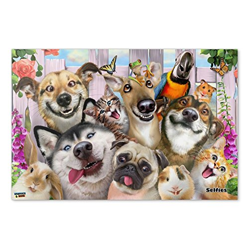 Graphics and More Pet Animals Selfie Dogs Cats Rabbit Hamste