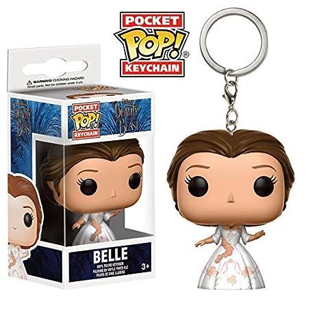 Llavero Bella, 4 cm. Vestido celebración. Bella y la Bestia ...