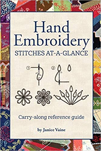 Hand Embroidery Stitches At A Glance Carry Along Reference Guide