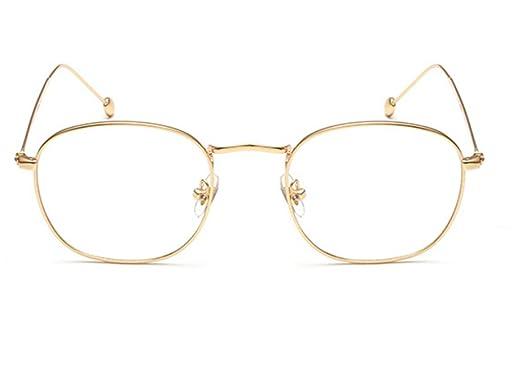 información para e006e 56627 Espejo plano protección radiológica gafas marco dorado ...