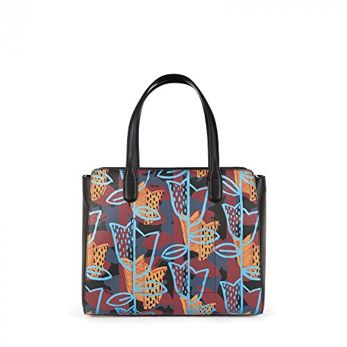 BORSA SHOPPING E A TRACOLLA TOUS CITY MODELLO LEAH MULTICOLORE