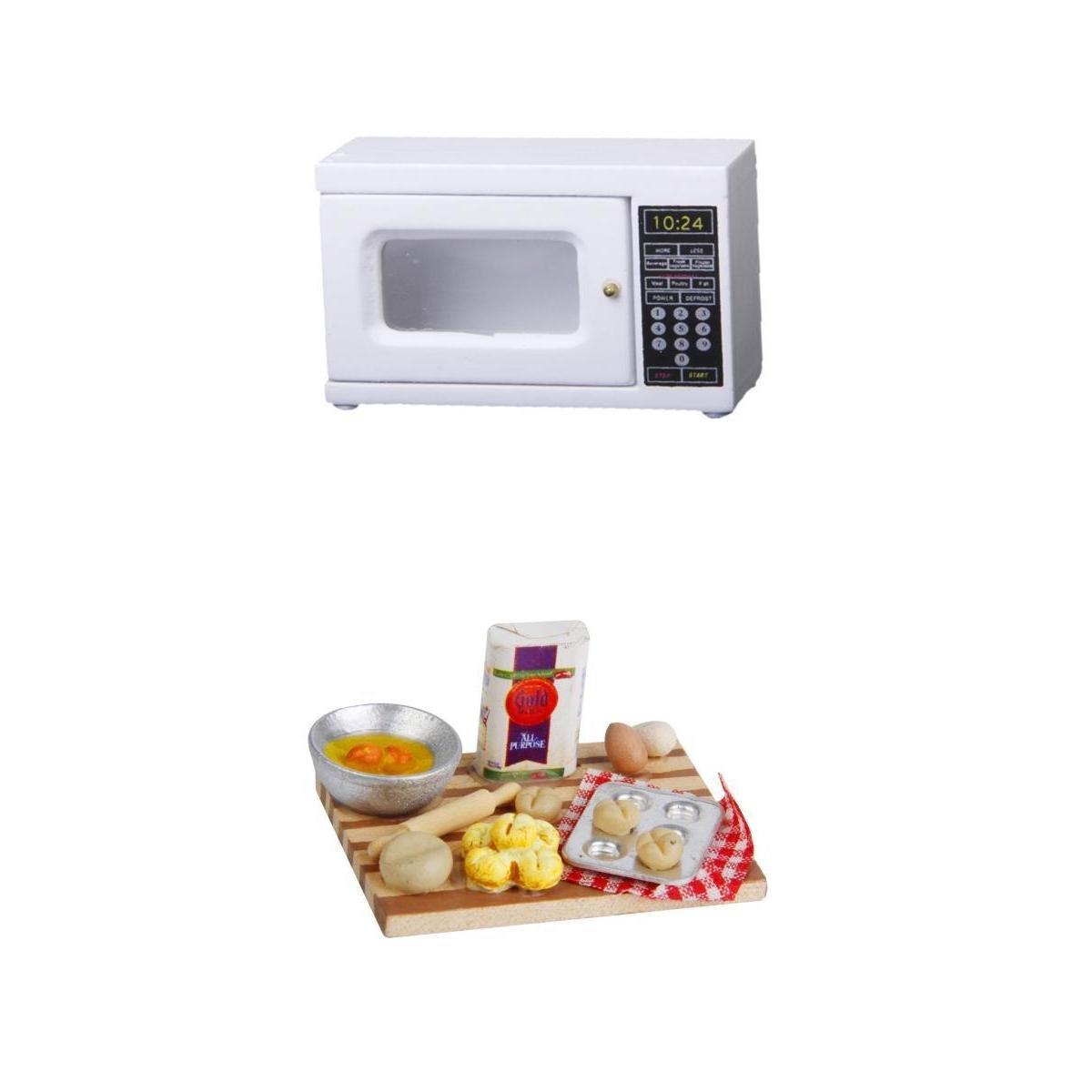 Amazon.es: non-brand 1/12 Dollhouse Miniature Kitchen Decor Micro ...