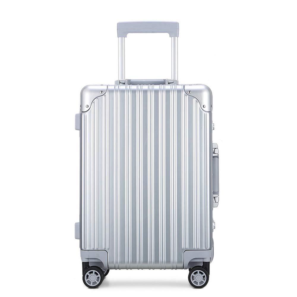 旅行用品荷物スーツケーストロリーケース プレミアム回転ハイエンドABS/PCプルロッドボックス、ユニバーサルホイール、トランク、税関コードロック、アルミフレームボックス20および24インチ。 B07SS6FR9C