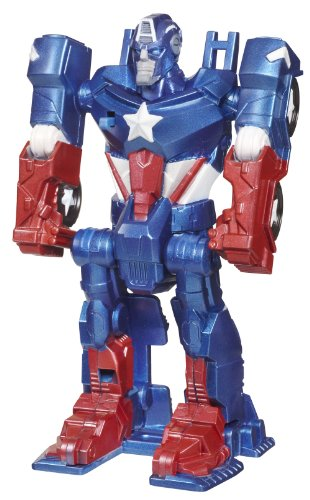 Captain America - Flip and Attack - Marvel the Avengers