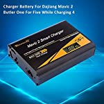 Ksruee Charger Battery Mavic 2 Butler One for Five While Charging 4 Batteries for Dajiang