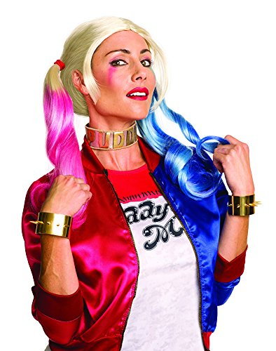 Harley Quinn Costumes For Sale (Rubie's Costume Co. Women's Suicide Squad Harley Jewelry Set, As Shown, One Size)