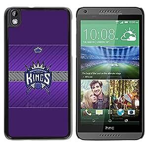 Design for Girls Plastic Cover Case FOR HTC DESIRE 816 Sacramento King Basketball OBBA