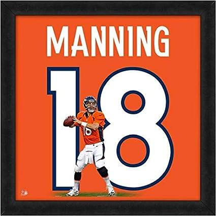 a0a841ac Amazon.com: Denver Broncos Peyton Manning #18 Players Jersey ...