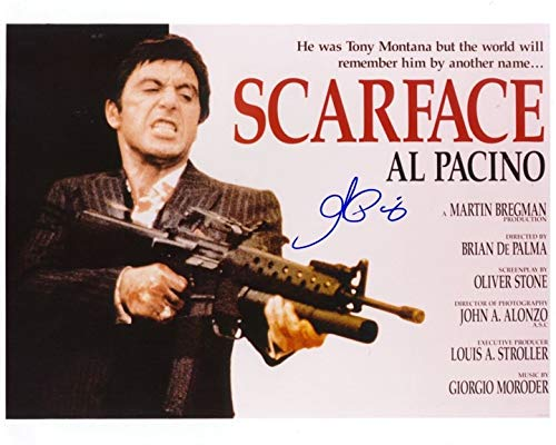 Al Pacino signed REPRINT 8x10 inch photograph Reprinted from Original GODFATHER 01